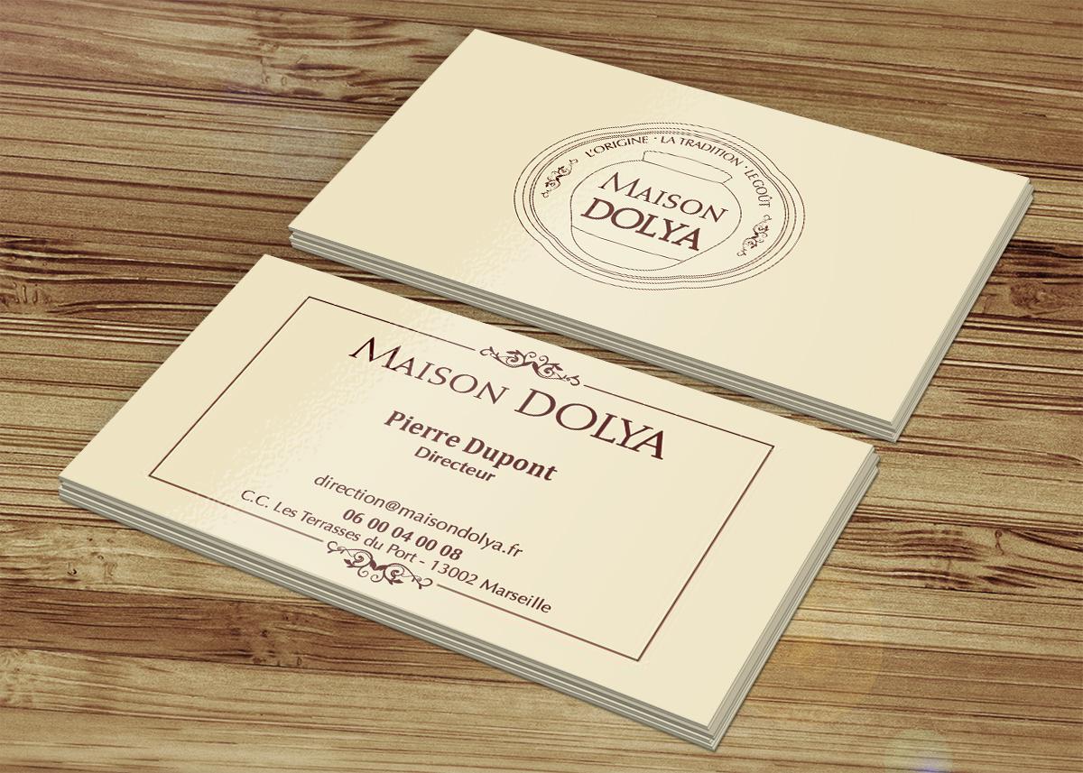 Très carmela garipoli » Identité visuelle pour Maison Dolya OU09
